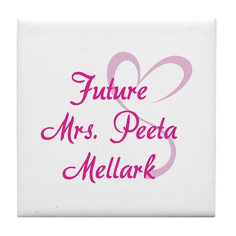 HG Future Mrs. Peeta Mellark Tile Coaster