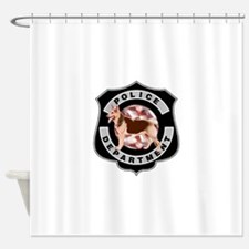 K9 Police Department Shower Curtain
