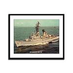 USS ROBISON Framed Panel Print