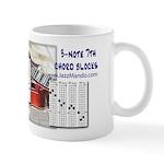 JazzMando 3-note 7th Chord Mug