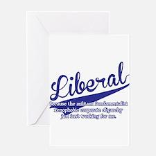 Liberal Greeting Card