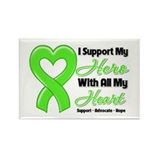 Lymphoma Support Rectangle Magnet