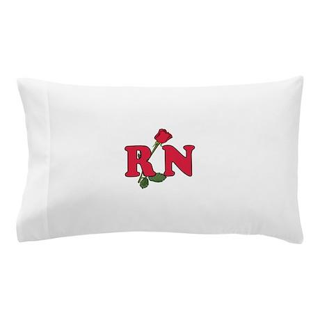 RN Nurses Rose Pillow Case