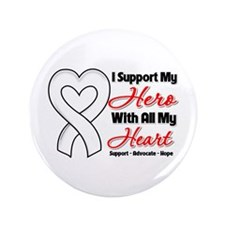 "Lung Cancer Support 3.5"" Button"