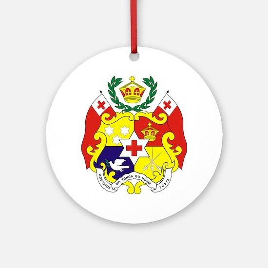 """""""Tonga COA"""" Ornament (Round)"""