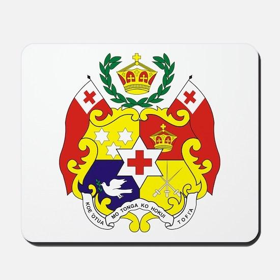 """Tonga COA"" Mousepad"