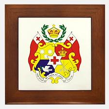 """Tonga COA"" Framed Tile"