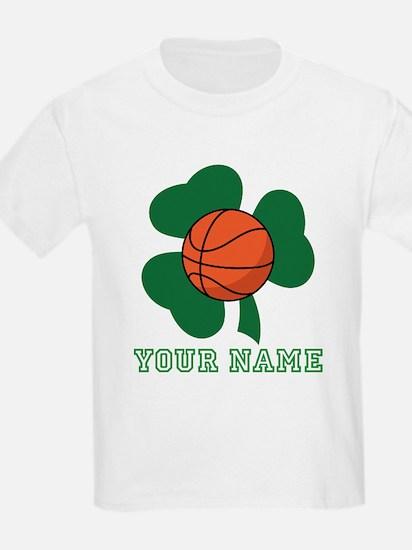 Personalized Irish Basketball Gift T-Shirt