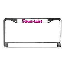 Femme-inist License Plate Frame