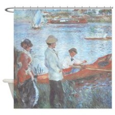 Renoir Oarsmen at Chatou Shower Curtain