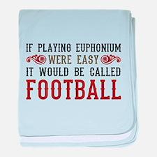 If Playing Euphonium Were Easy baby blanket