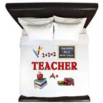 Teachers Do It With Class King Duvet