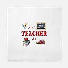 Teachers Do It With Class Queen Duvet
