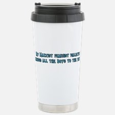 My Marxist Feminist Dialectic Travel Mug