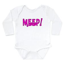 Meep! Long Sleeve Infant Bodysuit