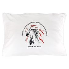 SCARE Educate and Assist Horse Rescue Pillow Case