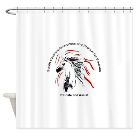 Educate and Assist SCARE Shower Curtain