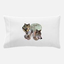 3 Wolf Moon Pillow Case