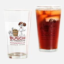 Unique Busch Drinking Glass
