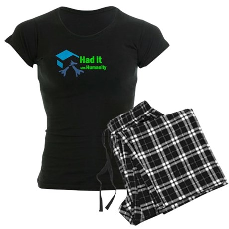 Had It with Humanity Women's Dark Pajamas