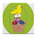 Easter Chick Tile Coaster