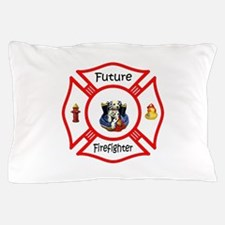 Future Firefighter Red Pillow Case