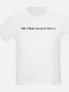 Midwifery Teacher Kids T-Shirt