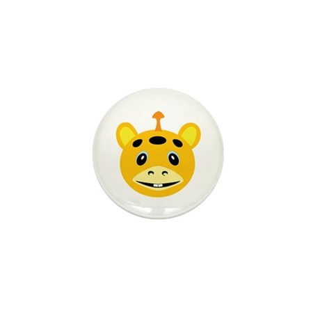 One-horned Yellow Monster Mini Button