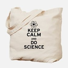Keep Calm and Do Science Tote Bag