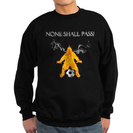 None Shall Pass Sweatshirt (dark)