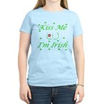 Kiss Me (_!_), I'm Irish Women's Light T-Shirt