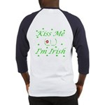 Kiss Me (_!_), I'm Irish Baseball Jersey