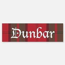 Tartan - Dunbar Bumper Bumper Sticker