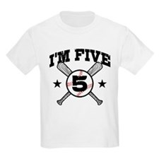 5 Year Old Baseball T-Shirt