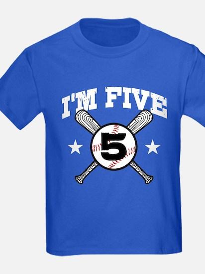 5 Year Old Baseball T