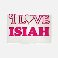 I Love Isiah Magnets