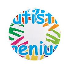"""Autistic Genius 3.5"""" Button"""