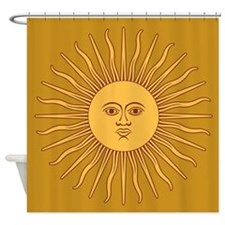 Sol de Mayo Shower Curtain