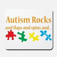 Autism Rocks... Mousepad