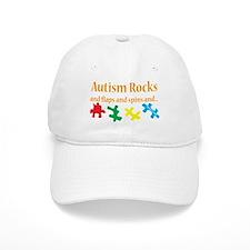 Autism Rocks... Baseball Cap