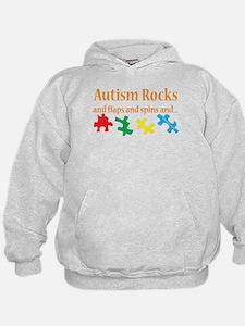 Autism Rocks... Hoodie