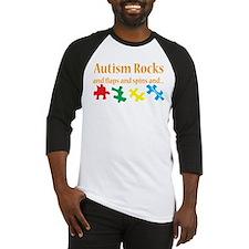 Autism Rocks... Baseball Jersey
