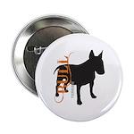 Grunge Bull Terrier Silhouette 2.25