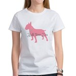 Diamonds Bull Terrier Diva Women's T-Shirt