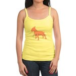 Diamonds Bull Terrier Diva Jr. Spaghetti Tank