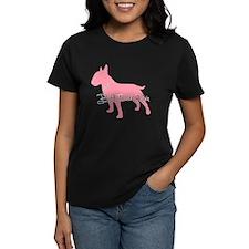 Diamonds Bull Terrier Diva Tee