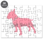 Diamonds Bull Terrier Diva Puzzle