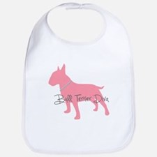 Diamonds Bull Terrier Diva Bib