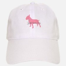 Diamonds Bull Terrier Diva Baseball Baseball Cap
