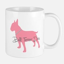 Diamonds Bull Terrier Diva Mug
